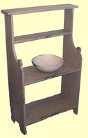 Colonial Bucket Bench