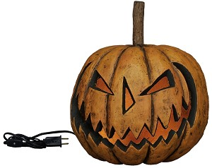 Large Lighted Sinister Pumpkin Head
