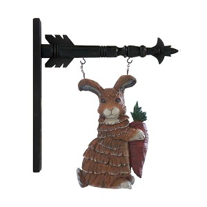 Rabbit Holding Carrot Arrow Replacement