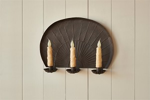 Galt 3 Taper Wall Sconce