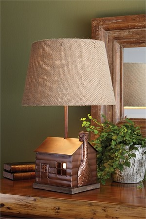 Cabin Lamp with Shade