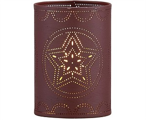 Punch Star Candle Sleeve - Wine