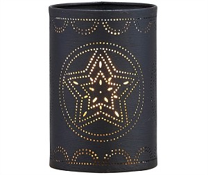 Punch Star Candle Sleeve - Black