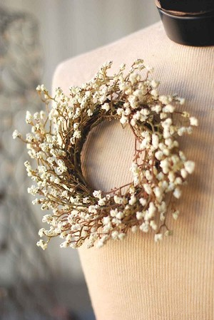 Pennypack Candle Ring | Cream | 8""