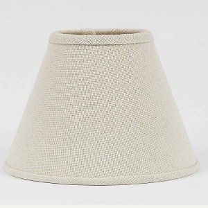 "Farmhouse Solid Lampshade Buttermilk 12"" Regular Clip"
