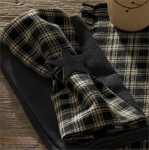 Sturbridge Napkin - Black