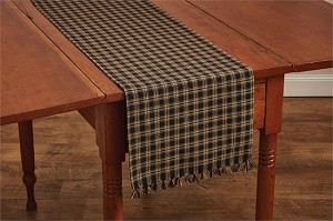 "Sturbridge Table Runner - 54""L - Black"