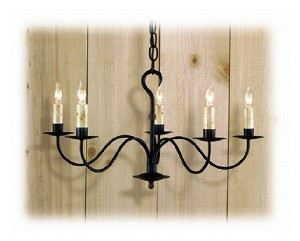 Wessex Wrought iron Chandelier