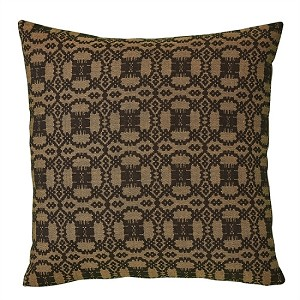 "Campbell 18"" Pillow Set - Black - Down Feather Fill"