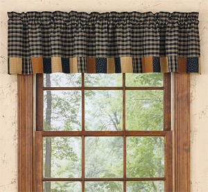 Prairie Patch Lined Border Valance