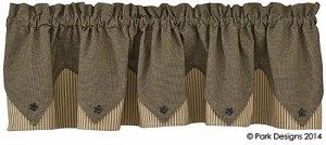 Primitive Star Lined Point Valance