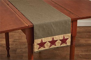 "Country Star Table Runner - 54""L"