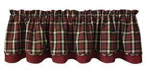Concord Lined Layered Valance