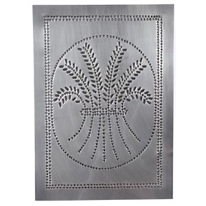 Wheat Design Cabinet Panel Country Tin