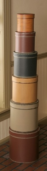 Nesting Boxes - Primitive Colors Round