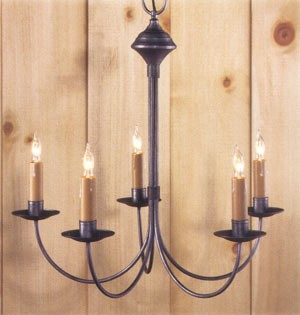 Eastham Wrought Iron Chandelier
