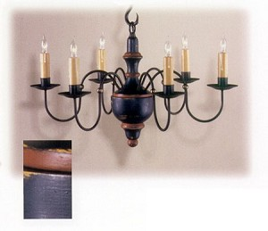Cherry Valley Wooden Chandelier