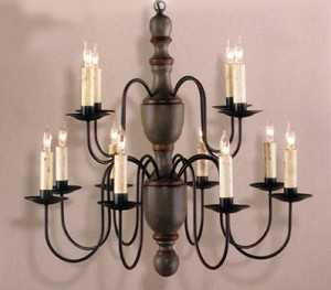 Mount Holly Wooden Chandelier