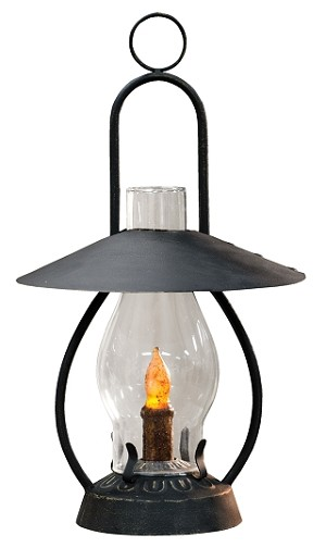 Barnside Lantern With Timer Taper