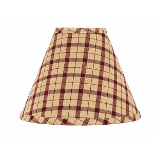 "Salem Check Lampshade 14"" Washer"