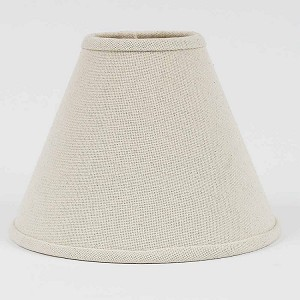 "Farmhouse Solid Lampshade Buttermilk 14"" Washer"