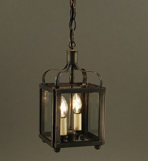 Small Crown Hanging Light