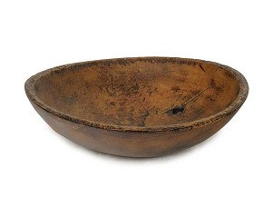Primitive Large Bowl with Hole
