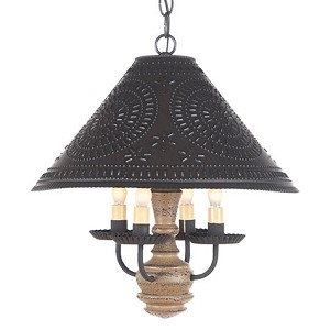 Homespun Shade Light in Pearwood
