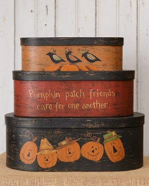 Nesting Boxes-Pumpkin Patch Friends