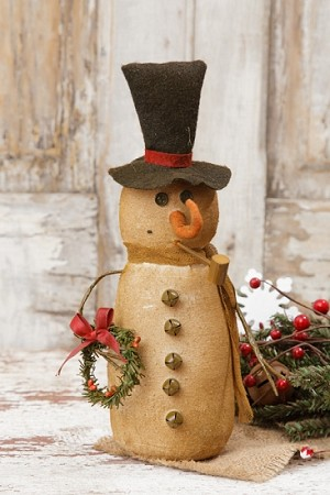 Snowman - Scarf & Wreath