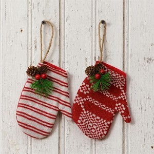 Ornaments - Mittens (Set of 2)