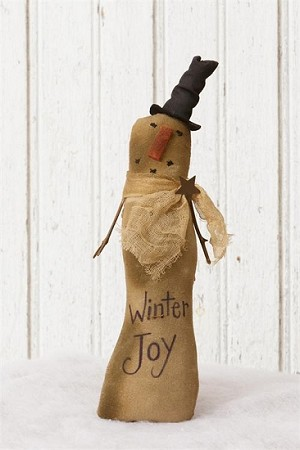 Snowman - Winter Joy Brown