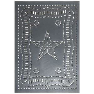 Vertical Federal Panel Country Tin