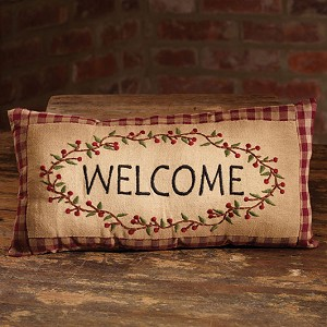 Berry Vine/Welcome Pillow
