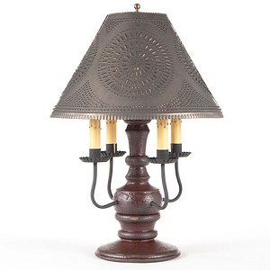 Cedar Creek Lamp Base in Americana Red