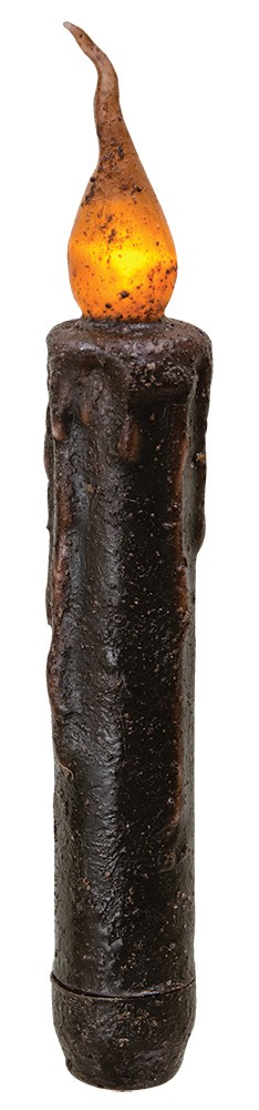 Flicker Timer Taper - Brown 6""