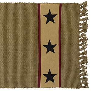 "36"" Khaki Barn Star Runner (13x36"")"