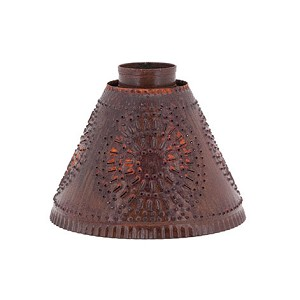 Med. Franklin Hanging Light Shade w/Chisel in RT