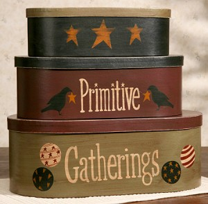 Nesting Boxes - Primitive Gatherings