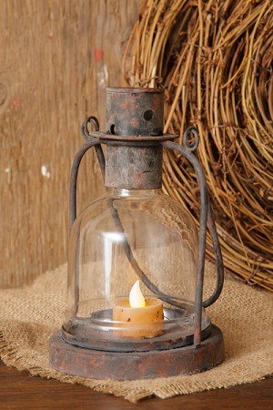 LANTERN - HOLDS LED CANDLE