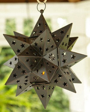 LANTERN - STAR THREE DIMENSIONAL