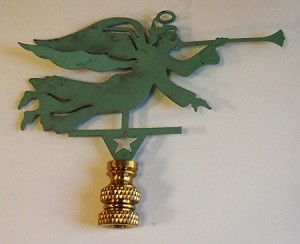 Angel Lamp Finial