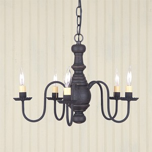 Lancaster Chandelier in Americana Black
