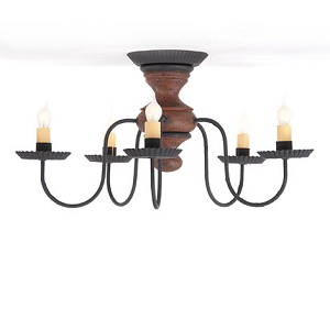 Thorndale Ceiling Light in Hartford Pumpkin