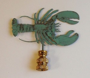 Lobster Lamp Finial