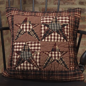 "16"" Star Patchwork Pillow"