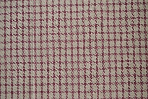 FARMHOUSE CHECK LONG RUNNER CRANBERRY/TAN