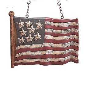 12.5 Inch Resin 8 Star USA Waving Flag Arrow Replacement