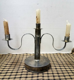 Candle Holder Pewter