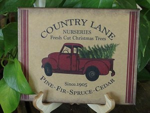 8X10 COUNTRY LANE